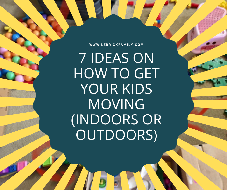 Do you live somewhere where the kids are not able to leave the house sometimes? Here are 7 ideas for you to use up your kids energies with more physical activities, indoors or outdoors: zcu.io/Hwu0 #homeschool #kidactivities