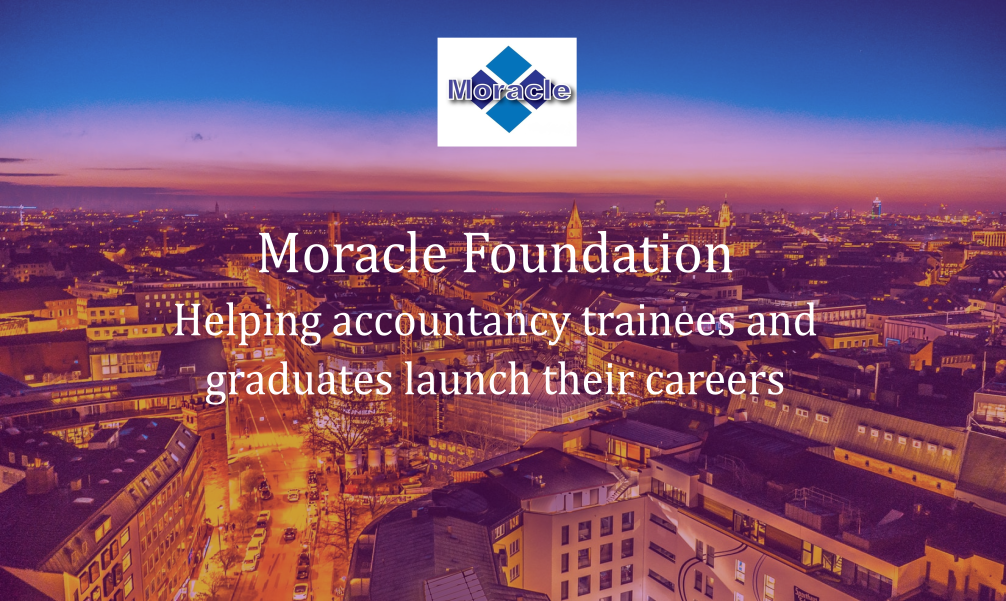 Moracle Foundation is growing!  #Accounting #accountants #Finance #BAME #Graduates #apprenticeships #education #training #CareersThatMatter https://t.co/fZobroEzAT