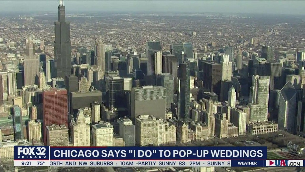 Pop-up weddings gain traction during COVID-19 shutdown fox32chicago.com/video/738824?t…