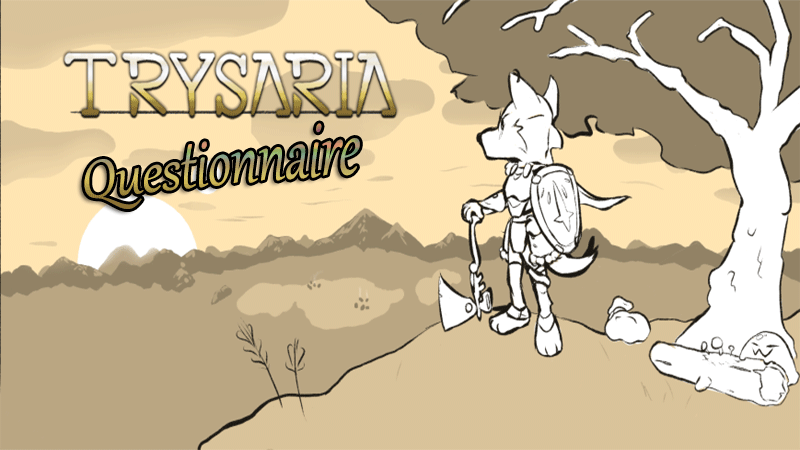 Today we are rolling out our questionnaire this is being used to help us gain information about what your experience with Trysaria is like, and what you like and dislike about the game.  https://t.co/da7aylxdVF  #indiegames #IndieWorldOrder #Trysaria #gamers https://t.co/8JQReKv1Am