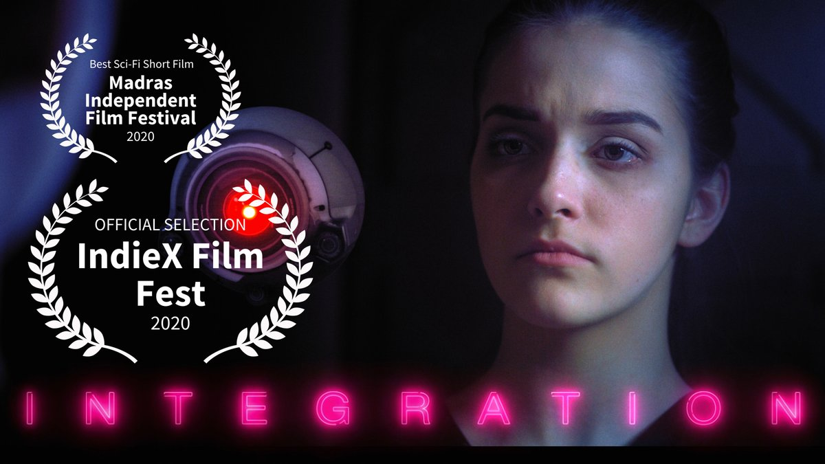 we are proud to announce INTEGRATION is selected for @IndieXFest and In Consideration for Best Sci-Fi Short #filmproduction #shortfilm #filmproducer #filmcrew #indiefilmmaker #filmfestvilpic.twitter.com/zxAFzmFFyb