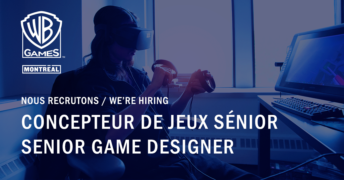 Hot Job de la semaine : https://t.co/sMrhPQwKkd de jeux sénior 🔥   Rejoignez-nous ! : https://t.co/T5Zvasr8oy  💼  Weekly Hot Job: Senior Game Designer 🔥   Join us! : https://t.co/T5Zvasr8oy https://t.co/XtoHdUipNe