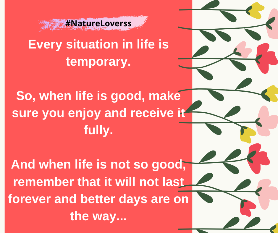Every situation in life is temporary. #COVID19 #Corona #CoronaVirus #NatureLoverss #StayHome #WithMe #NetworkMarketing #BetterEveryDay #TogetherAtHome #StaySafe #DSB #DirectSellingBusiness #DigitalPakistan #Nature #Travel #DSI #DirectSellingIndustry #NetworkMarketing https://t.co/TewPkeVcXM