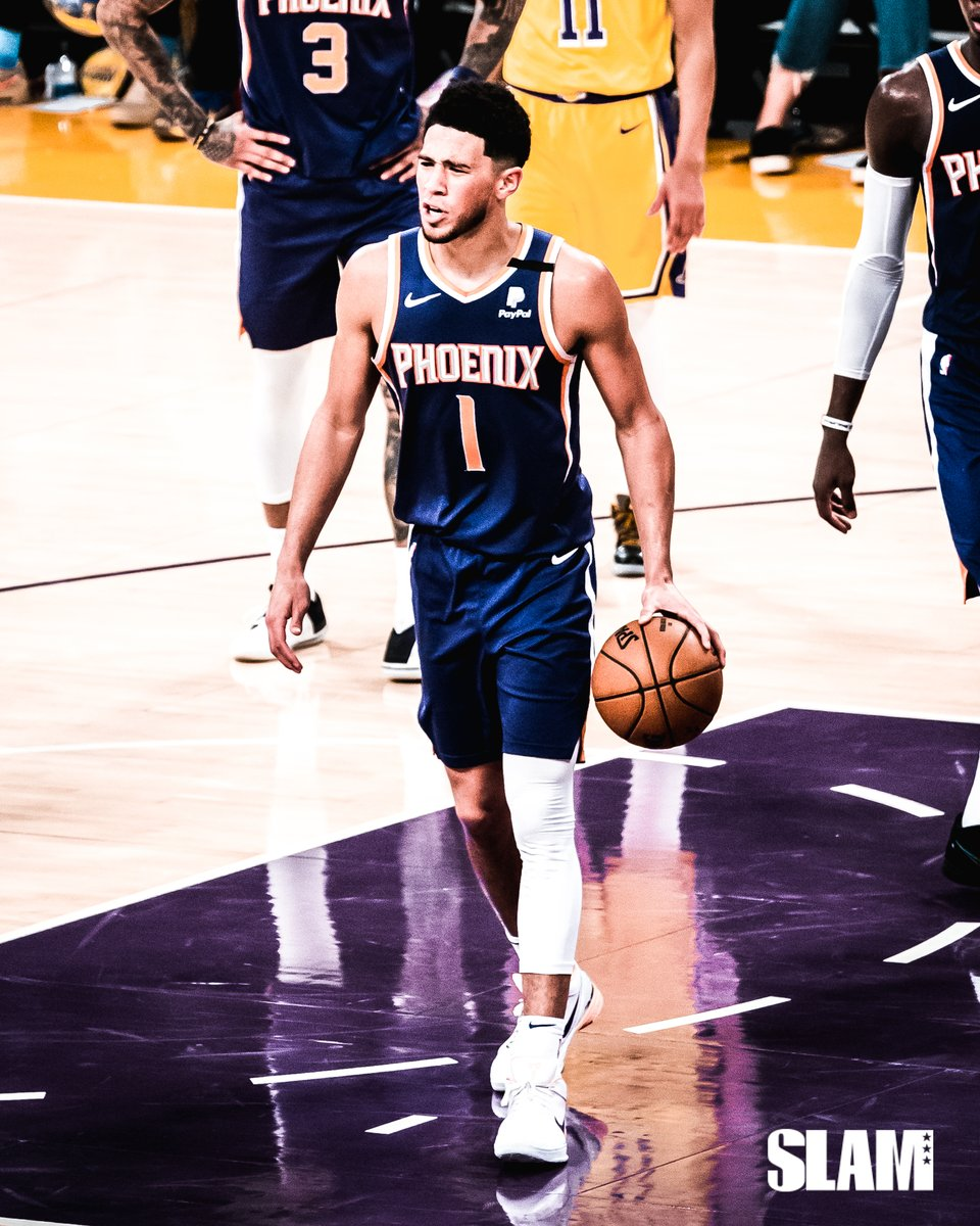 Devin Booker's rating in NBA 2K21 should be a ______.  📷: @goodlooksfamily https://t.co/3uynTzOuLv