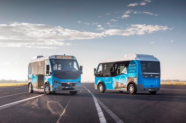 Minibuses Karsan Jest Electric se utilizarán para transportar personal de BMW https://t.co/p9MwnstipI https://t.co/MHberIVIbK