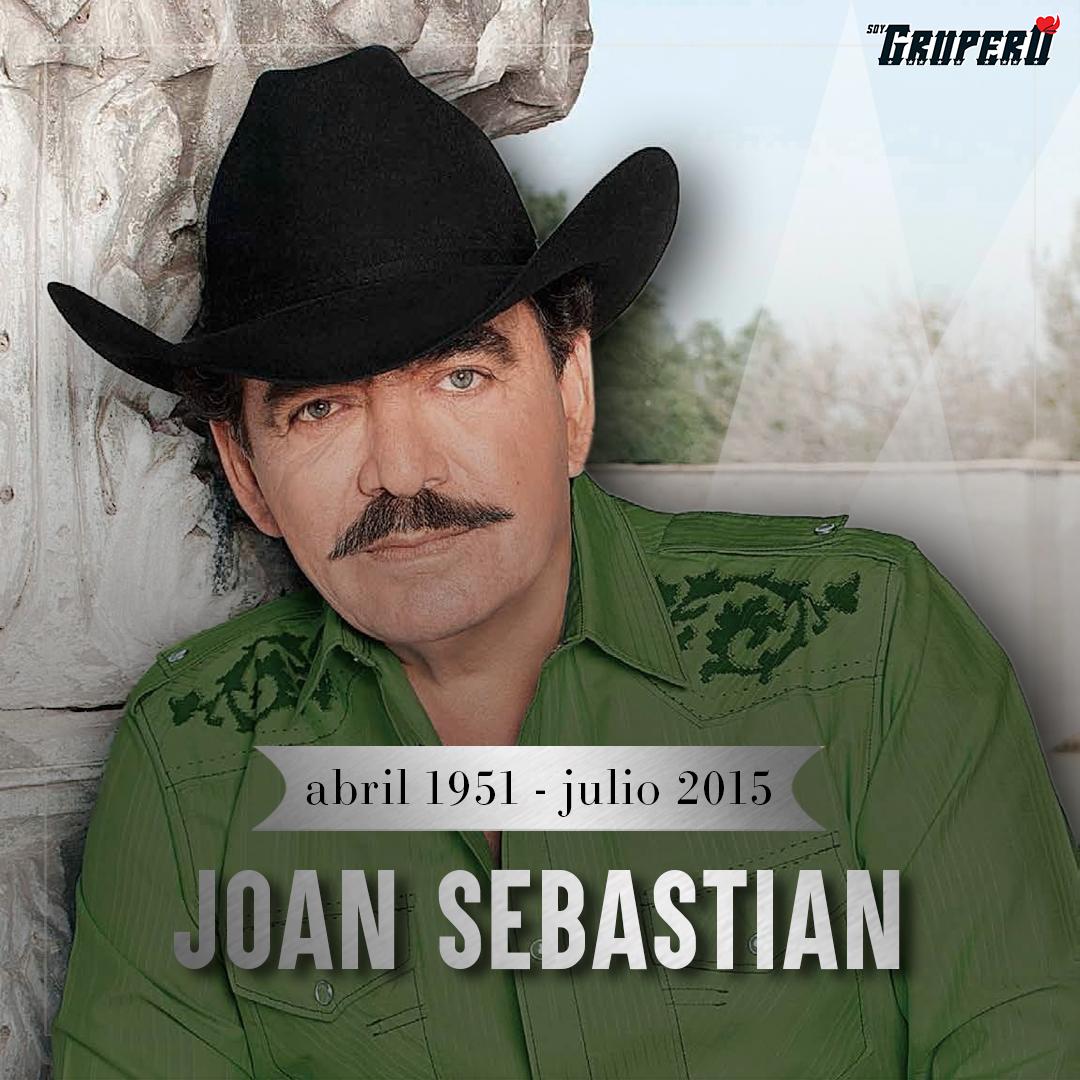 """Recordamos #JoanSebastian, conocido como """"El Rey del Jaripeo"""", quien falleció un día como hoy, pero de 2015.  ¿Con cuál canción lo recuerdas? https://t.co/dJeiw8pxSt"""