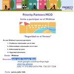 Image for the Tweet beginning: This Thursday!!!! Nuestro webinar: Seguridad