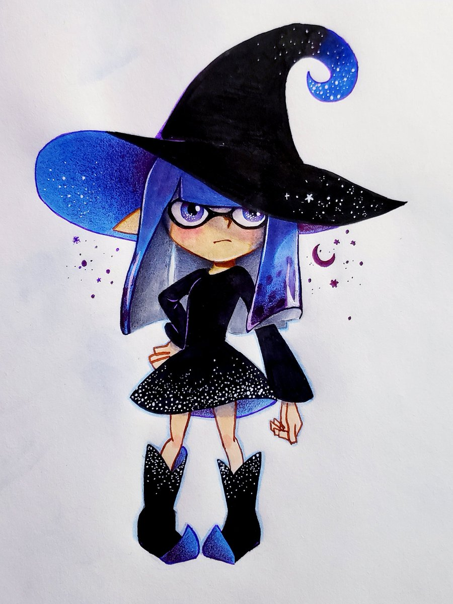 i dyed my hair and did not use gloves  my blue fingerprints are visible im sorry #Splatoon2 <br>http://pic.twitter.com/RTDRDvkACf