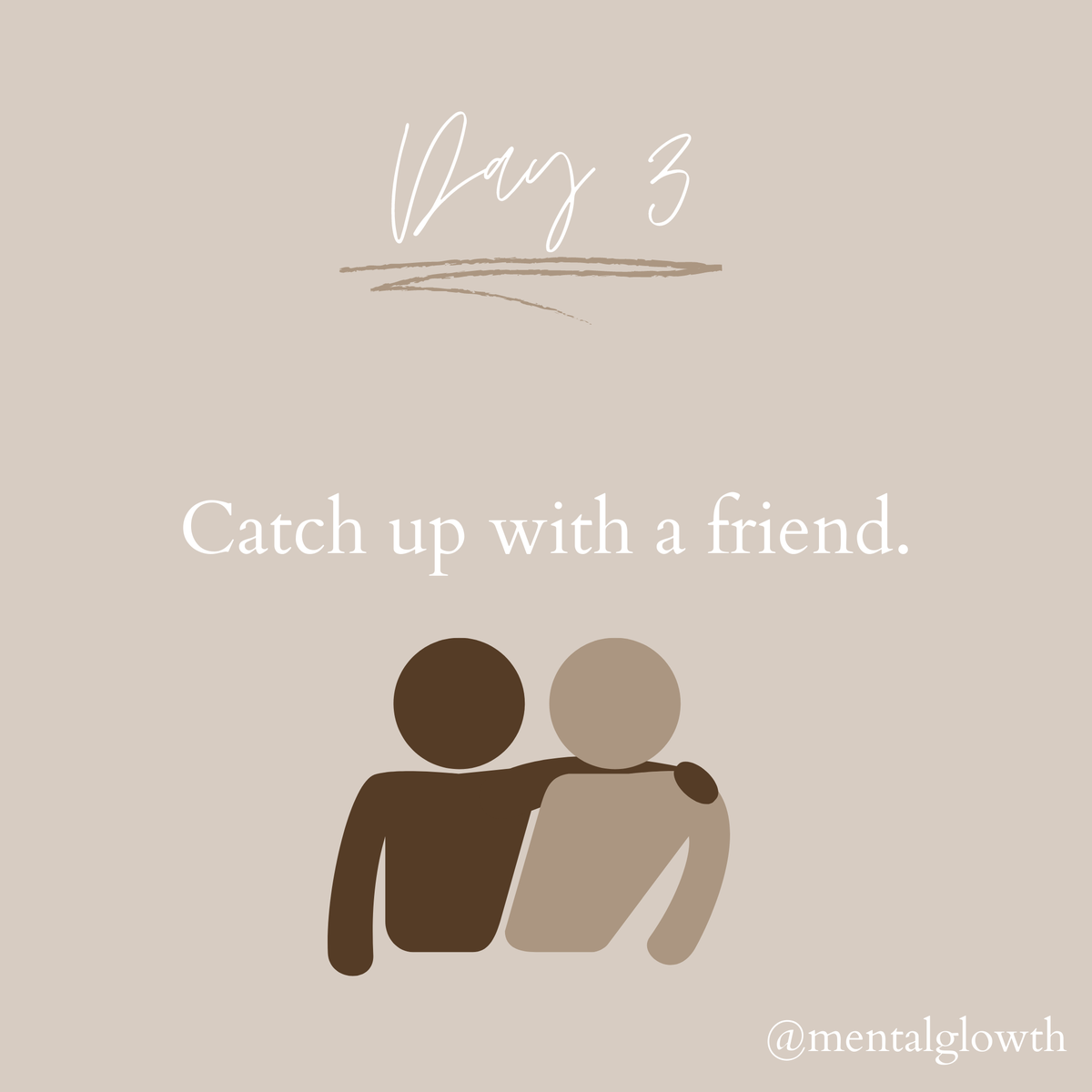 Catching up with a friend can really make you feel good and it will make them feel good that you reached out.   #mentalglowth #mentalhealth #mentalillness #mentalhealthawareness #mental #mentalwellness #blackownedbusiness #health #wellness #selfcare https://t.co/6TsvqcT9wq