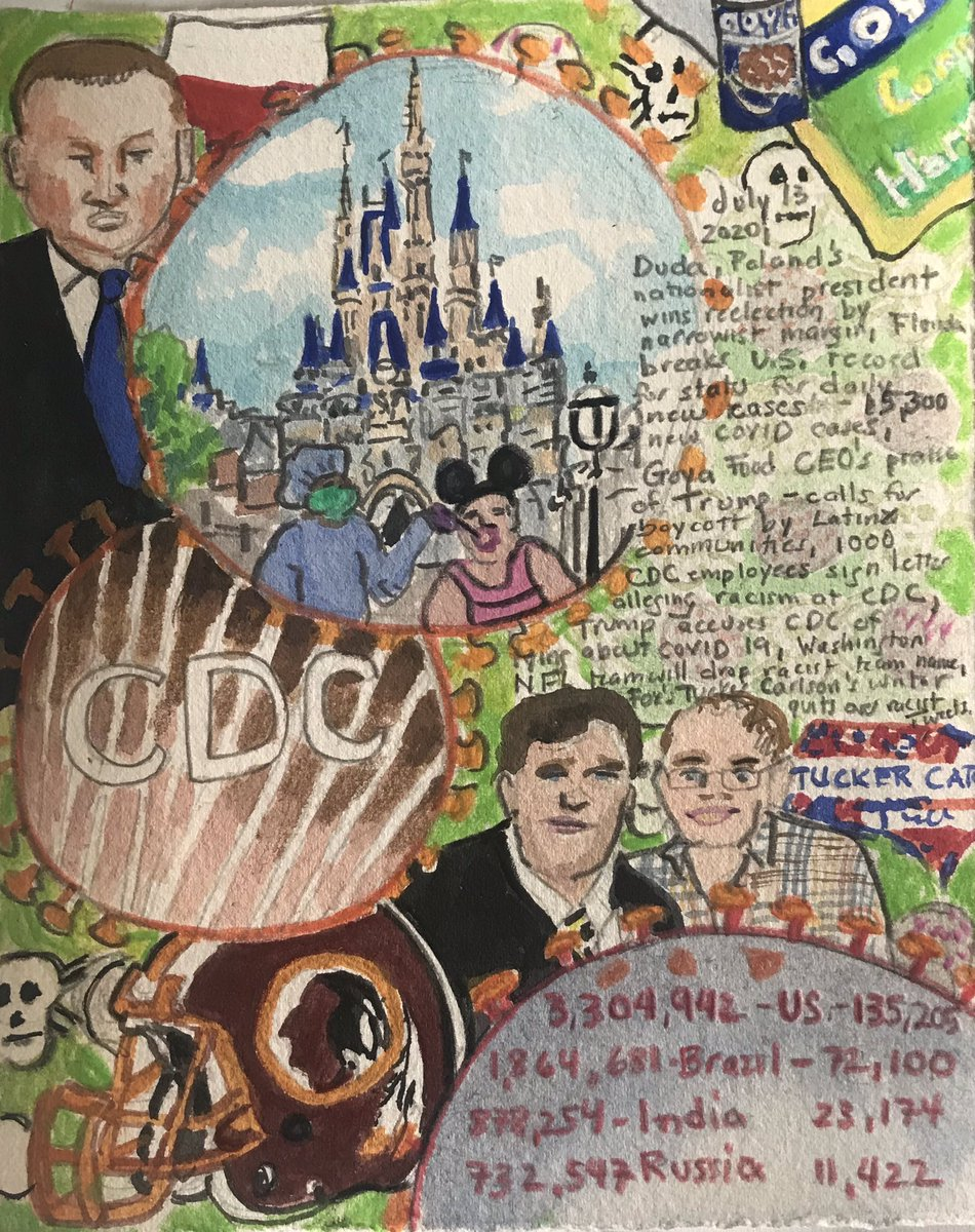 @julioochoa Diary of a Radio Junkie:1696 Days of Waking Up to the News #Poland #Duda #Goyaway #GOYABOYCOTT #coronavirus #COVID_19 #CoronavirusUSA #FloridaCovidEpicenter #disneyworldreopening #Covid19 #CDC #Racism #NFL #WashingtonRedskins #TuckerCarlson #BlakeNeff #FoxNews #art https://t.co/HVrk8QQdeI