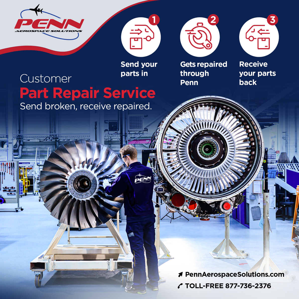 Need a part repaired instead of replaced?  Contact us today to find out about out aircraft part repair service. https://t.co/QxKjmruFDx  #aerospace #aviation #aircraft #flying #businessaviation #privatejet #airline #aircraftengineer #pilot #selffly #bushpilot #avgeek https://t.co/tXSOWQgn0h