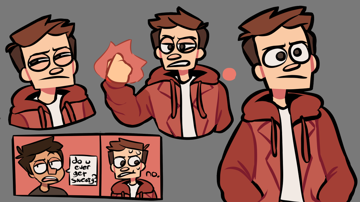 some doodles i did for my character, jae, in an alternate universe where hes rude now  #originalcharacter #oc #art #drawing #digitalart #myepiccharactertag https://t.co/60s8GgHRiV