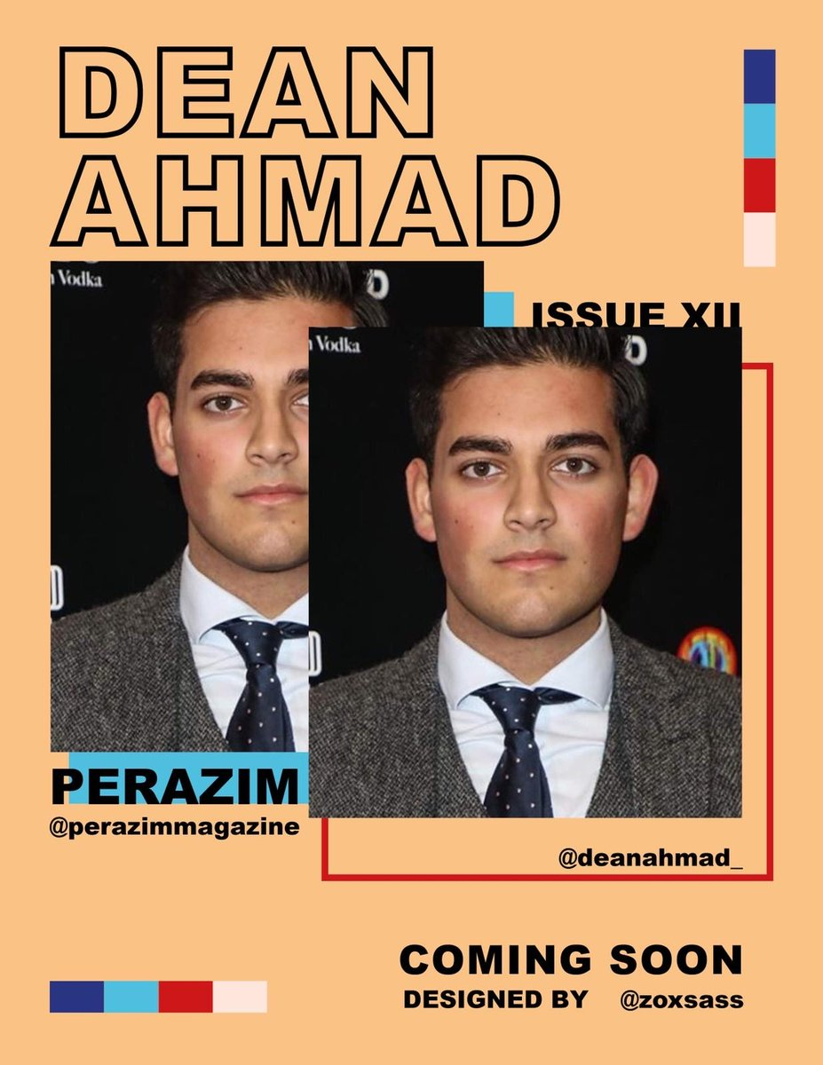 Perazim Magazine Issue XII featuring @deanahmad_ coming soon - Promo Design by @zoxsass ⁠ #summeredition #magazine #sports #influencer #creatives #boxing #comingsoon #inspiration #beinspired #beempowered #faith #london #designer #love #motivational #july #athlete #promo https://t.co/9KzON3NII6