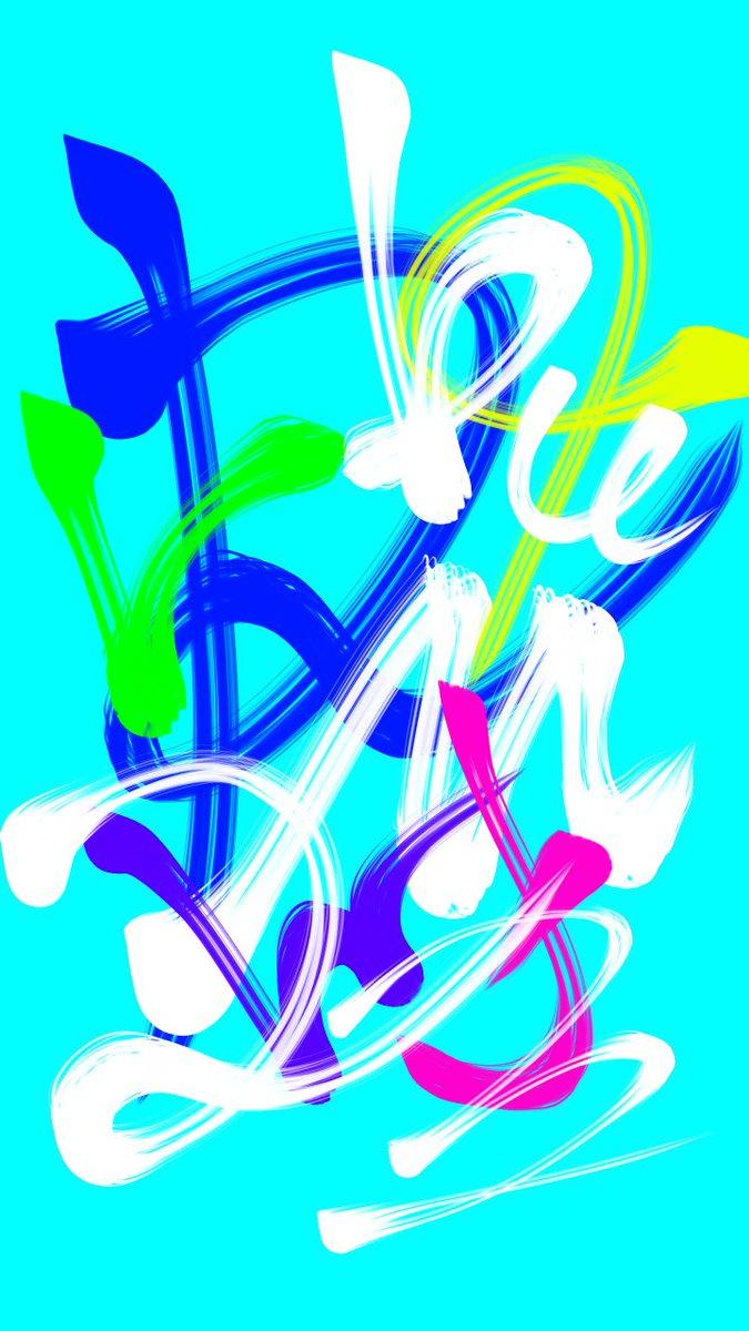 #落書き #お絵描き #art #カラフル #colorful #名前 #ポップアート https://t.co/XqTXfzWwbl