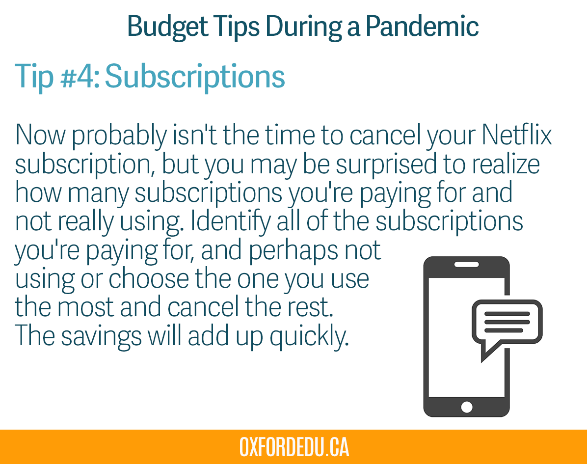 Hello Monday! Here's our budgeting tip #4! #OxfordEdu #OxfordCollege pic.twitter.com/riKWOJ7n50