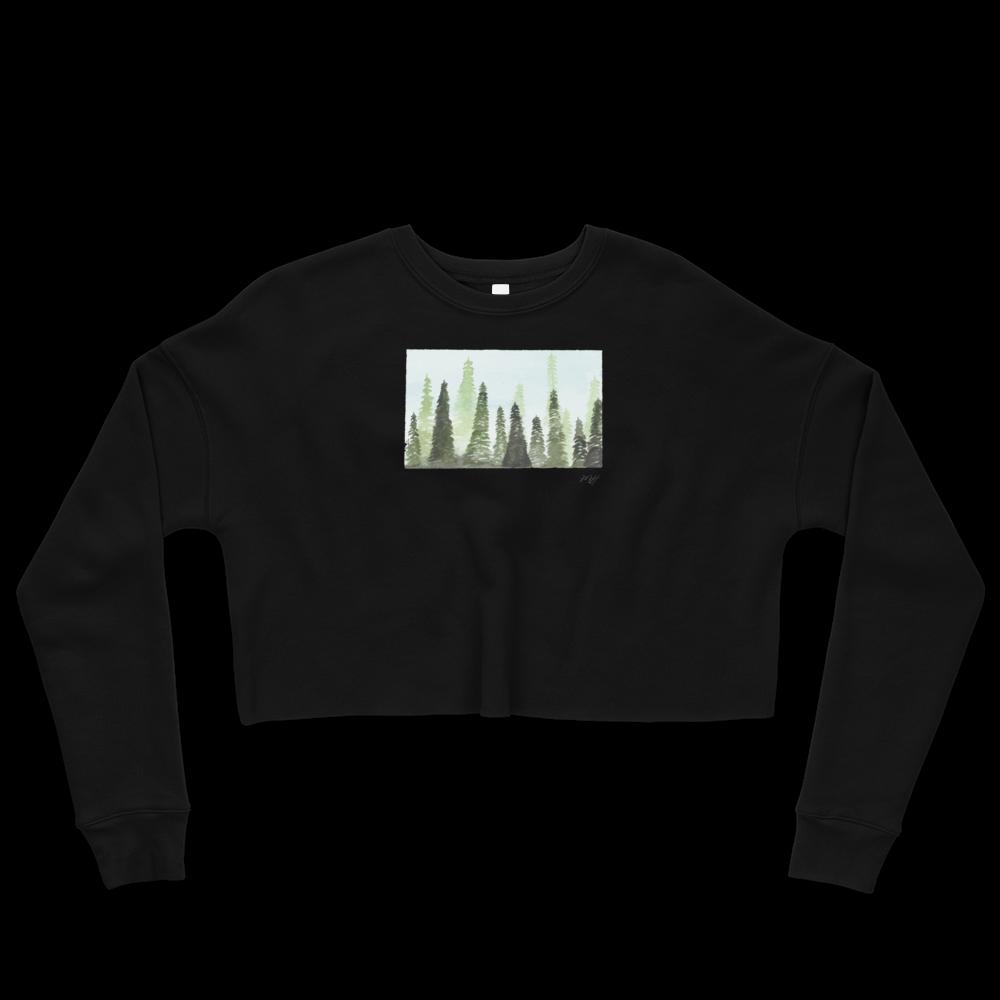 New product! (Forest Lady Crop Top Sweater)  Shop now 👉👉 https://t.co/HIA19UDAjM    #art #artist #watercolor #painter #ocean #surfshop #artislife #surf https://t.co/rYbqLijZer