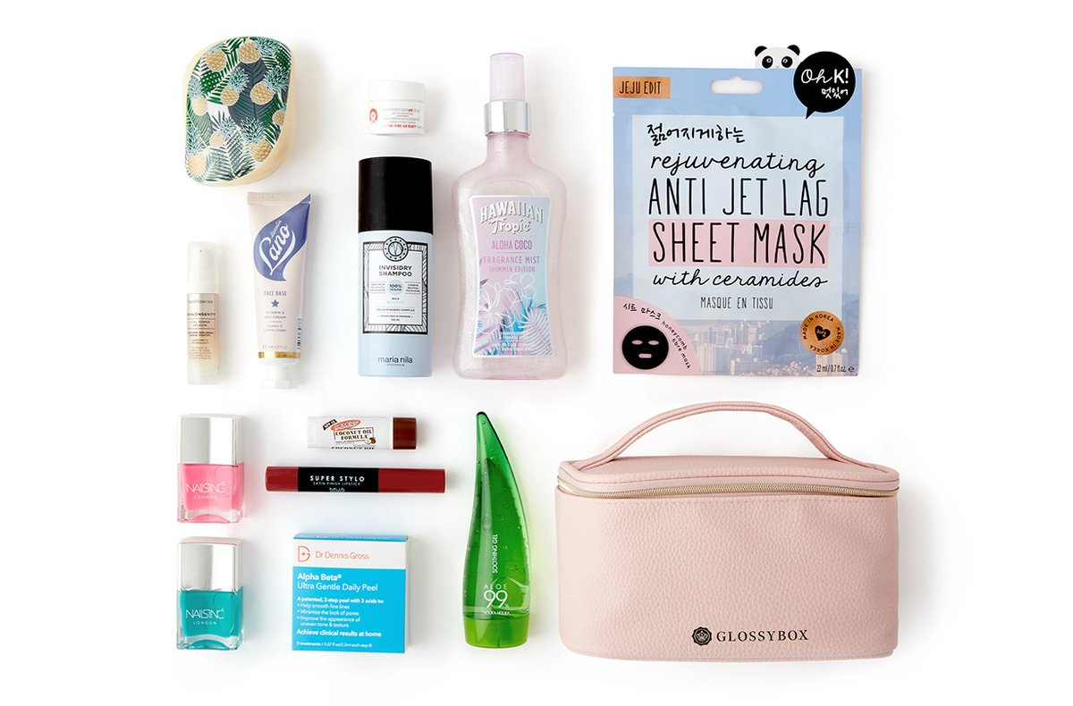Glossybox unveils summer essentials box filled with over £95 worth of luxury beauty products https://t.co/imrcpBo7Hk https://t.co/GmDtlpN8Is