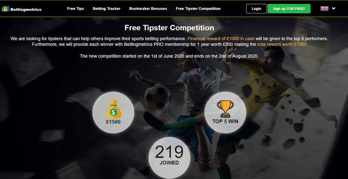 betting tipster competition