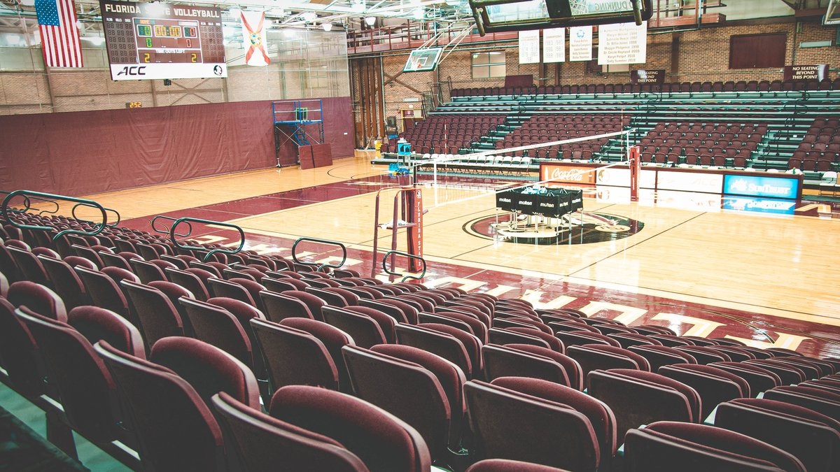 𝐅𝐚𝐜𝐢𝐥𝐢𝐭𝐲 𝐒𝐩𝐨𝐭𝐥𝐢𝐠𝐡𝐭:Tully Gymnasium  🚧 Constructed in 1956 🏟 Capacity: 1,162 🏡 @FSU_Volleyball 🍢 Record of 492-159 (.756) at home since the start of the 1972 season. https://t.co/RWHtm8AJ1T
