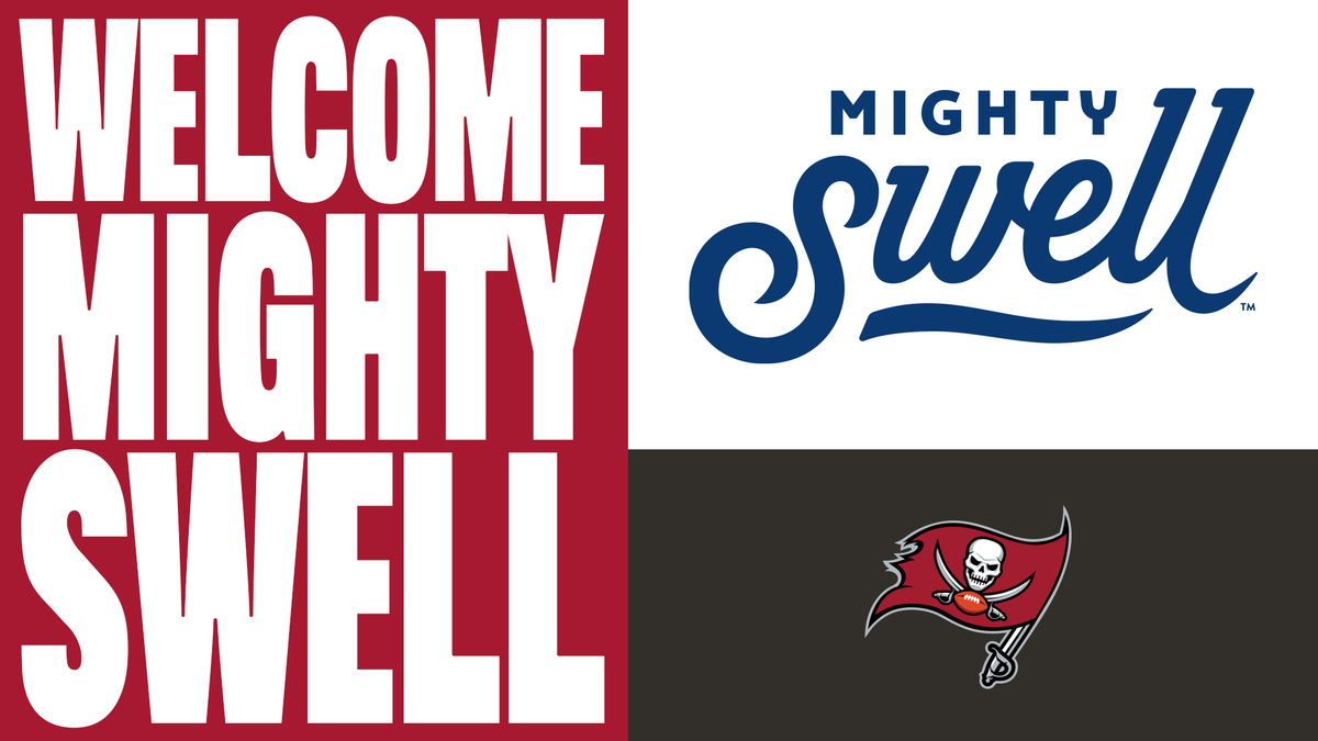 We've partnered with Mighty Swell Spiked Seltzer for the 2020 season 🍹  📰: https://t.co/Nu2Of9QBUH https://t.co/LklI2qV2ta