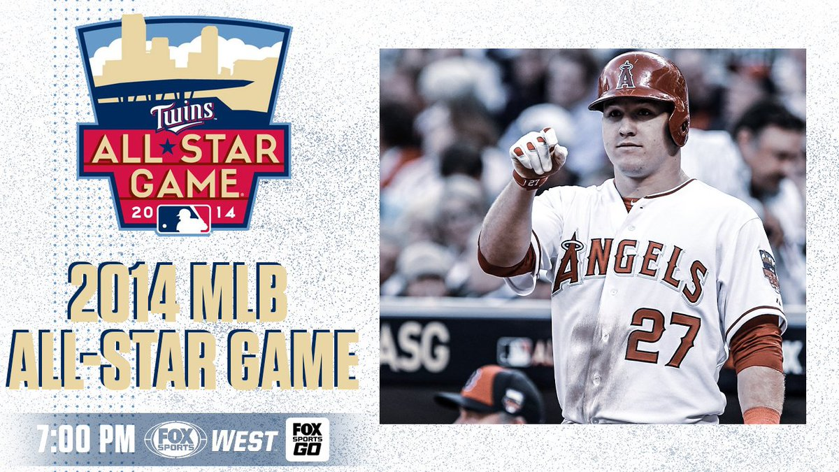 Tune-in tonight to catch @Angels @MikeTrout win MVP at the 2014 MLB All-Star Game! https://t.co/JmfsroSQz7