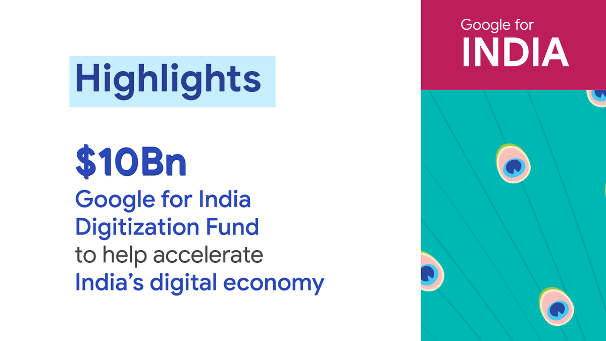 #ICYMI, here are the key highlights from the sixth-edition of #GoogleForIndia ➡️ goo.gle/2WdZWAu #G4IN