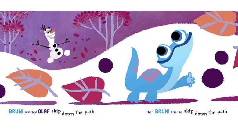 EXCLUSIVE: Check out the ADORABLE art for the new @DisneyBooks story, Bruni's Big Adventure:  #DisneyMagicMoments