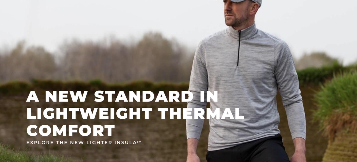 @galvingreen DIXON Insula..... Quickdry Extremely breathable. Soft stretchy comfort Warming effect #1 BLUESIGN® approved fabric Excellent next to skin comfort Soft handfeel Available in 4 different colours. vimeo.com/390918419
