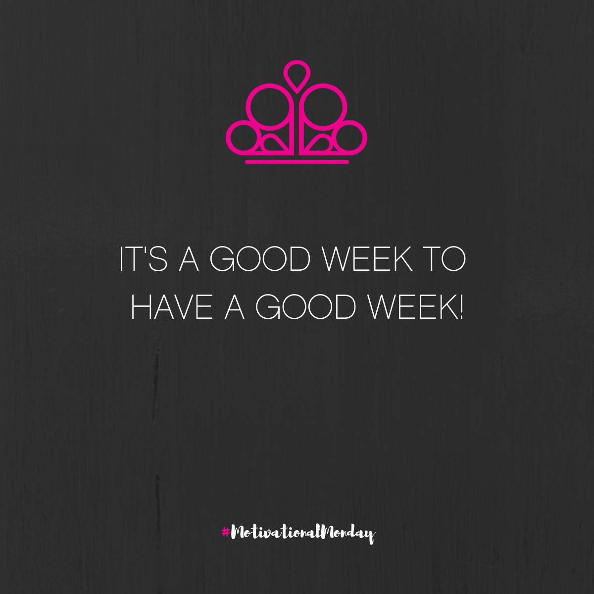#MotivationalMonday How are you going to make this week a good week?pic.twitter.com/xzj3ontogT