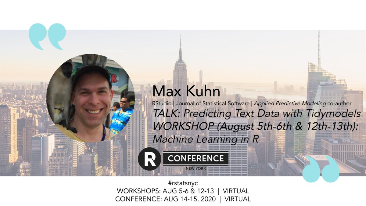 What happens when Bayesian (or non-Bayesian models) for multi-level and repeated measures designs are resampled using a full leave-subject-out scheme? Is the basic out-of-sample error consistent with the model-based estimate?   @topepos will tell us!  #rstats | #rstatsnyc https://t.co/mX64fGiSjo