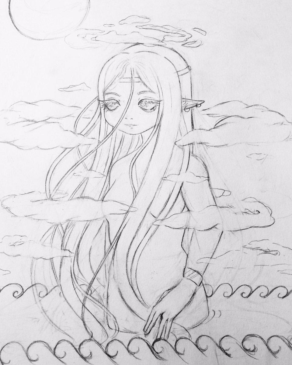 #myart #MyArtwork #drawing #art #sketch #wip https://t.co/s6hiWVt4GJ