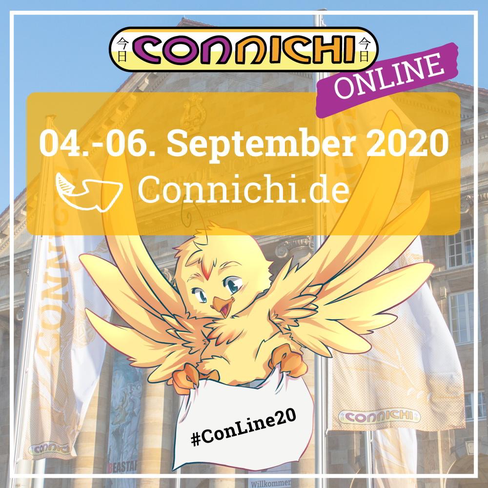 Markiert euch das Wochenene vom 4. bis 6. September im Kalender, denn die @Connichi kommt zu euch nach Hause. https://t.co/FuNEbiFjN1
