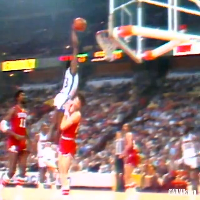 David Thompson is an Athletic Force!  Check out some of Skywalker's most athletic plays from his career as we celebrate his 66th birthday! #NBAVault #NBABDAY https://t.co/kU5kBHKQGB