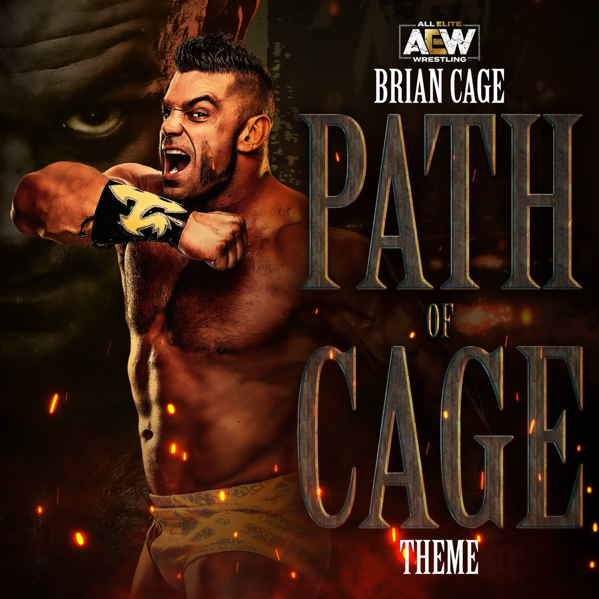 🚨WHO CAN STOP THE PATH OF CAGE?!🚨 The brand new Original #AEW Entrance Theme Path Of Cage for The Machine @MrGMSI_BCage is NOW AVAILABLE for EARLY DIRECT DOWNLOAD! Grab your copy NOW!! Coming soon to all digital platforms! @OfficialTAZ @MikeyRukus bit.ly/3ekOj0V