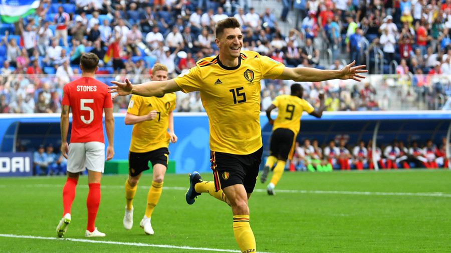 #OnThisDay in , #Belgium  defeated #England  in a @FIFAWorldCup rd place playoff match, with goals from Thomas Meunier and @hazardeden10.   What is your favourite memory from that game in Krestovsky Stadium? #FIFAWorldCup #OnThisDayInFootball #footballpic.twitter.com/otvjOt0yxw