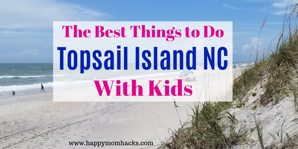 Topsail Island North Carolina is the perfect social distance vacation with only rental homes & wide-open uncrowded beaches. Your family will love this beautiful beach destination. #NorthCarolina #familyvacation #familytravel #beachvacation #beaches buff.ly/3fiG476