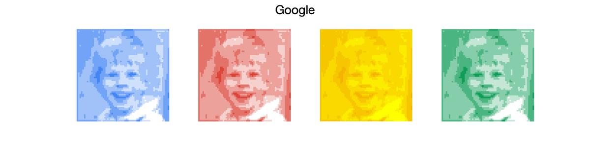 MATLABで作ったGoogleのカラーマップ。  #Google #MATLAB #エンジニア #IT #カラーマップ https://t.co/u6usb2JG8z