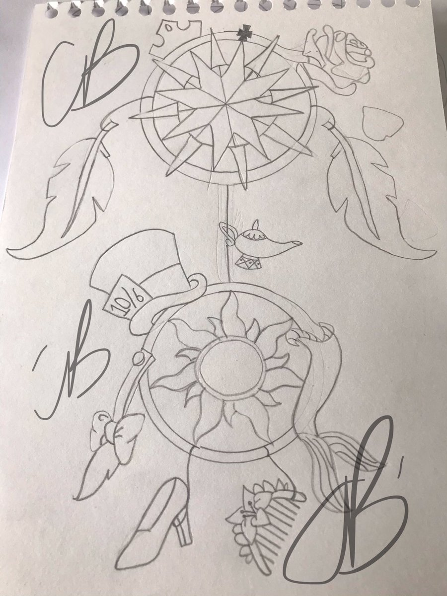 So after weeks on binging #Inkmasters I decided I want more ink myself! So have contacted a new (to me) artist who's work I admire and have come up with my own idea/design hope she can work from it! #inked #inkup #inktime #yearoftheinkpic.twitter.com/ZVDyA38qCK