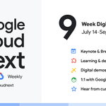 Image for the Tweet beginning: T-minus 1 day until #GoogleCloudNext