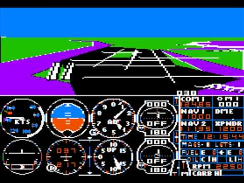 Flight Simulator II (Apple II 1983) versus Flight Simulator (PC/XboxSX 2020). The difference 37 years makes. https://t.co/3EYbYiHm4m