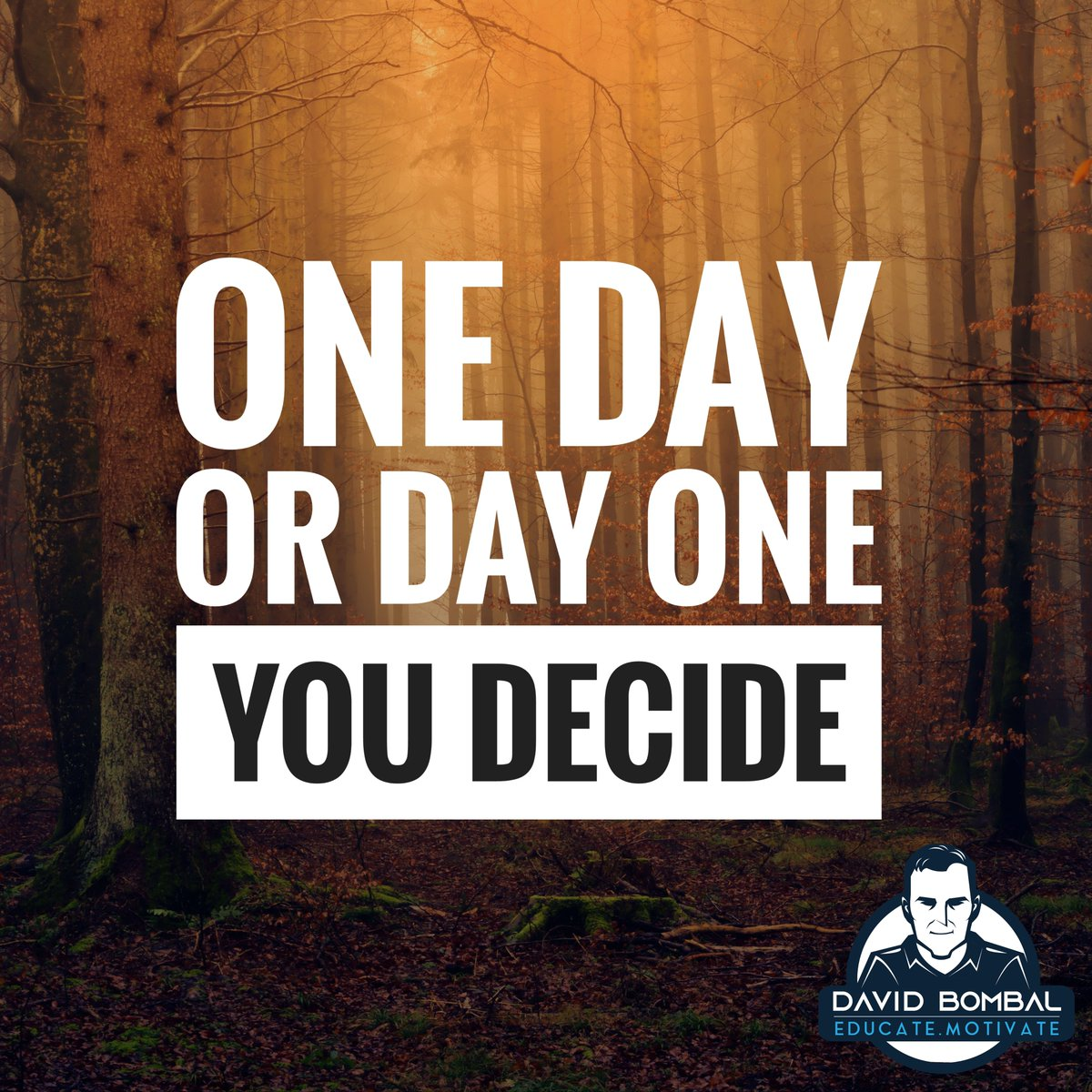 One day or day one. You decide.  #motivationquotes #dailymotivation #ccna #inspirationalquote #cisco pic.twitter.com/mhzRc3sAqo
