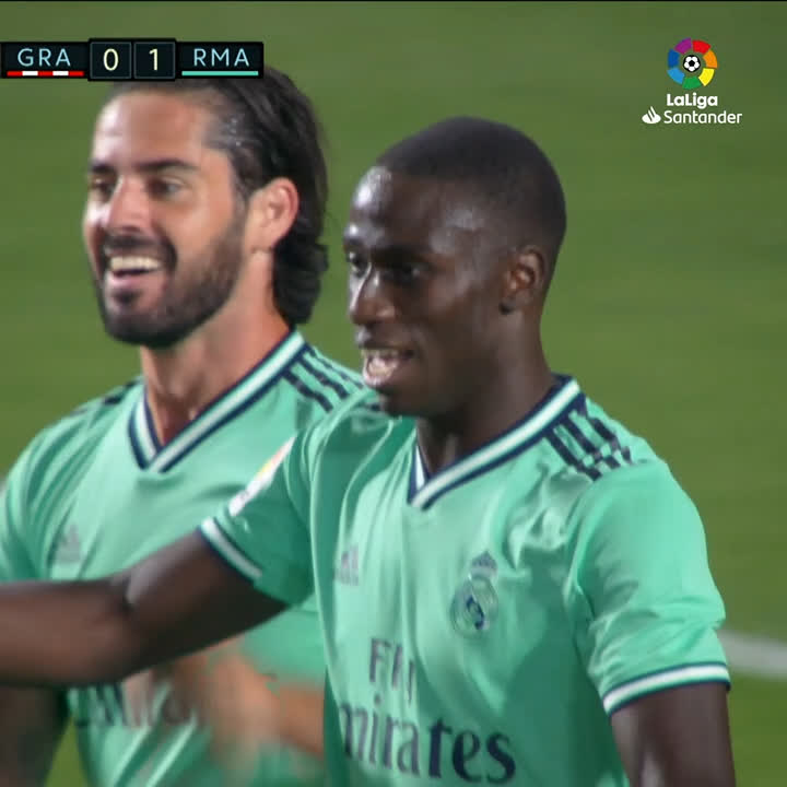 HIGHLIGHTS | @ferland_mendy and @Benzema strike as @realmadriden win 9th game in a row! 💜🇫🇷✨ 📺 #GranadaRealMadrid