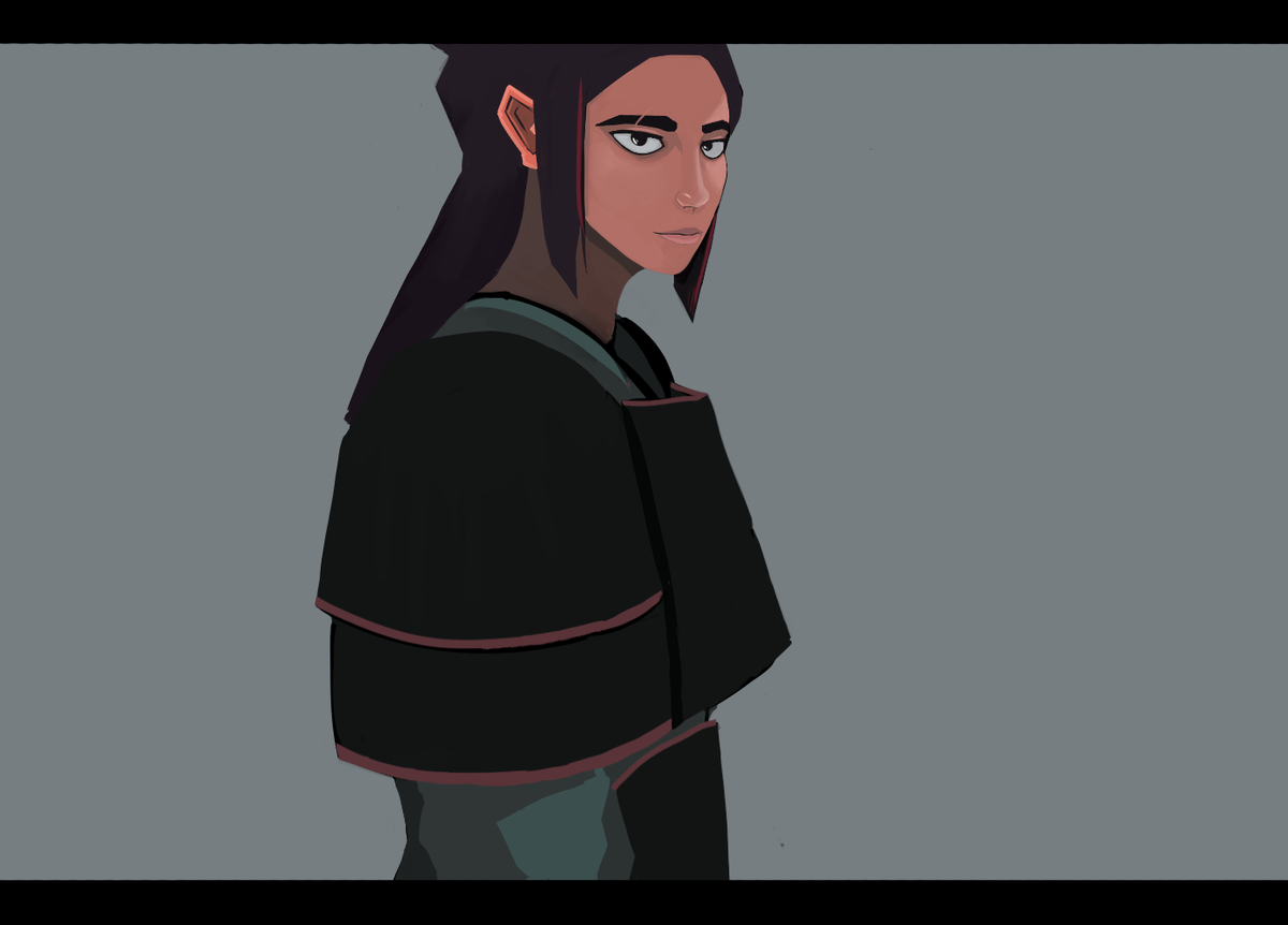 Its not much yet, planning on working on this over the next few days  #characterdesign #illustration #digitalart https://t.co/7T2pSd9Fcf