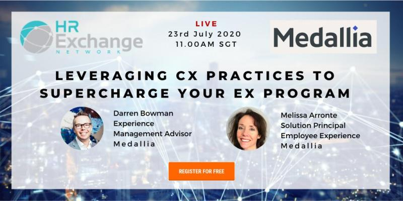 Join @Medallia FREE #webinar as they discuss how to elevate #EX practice beyond annualized #engagementprograms, implementing #learning approaches that help your employees and much more!  Register for free here: https://t.co/Rw4XSiKDTO https://t.co/2i1QYxtAre