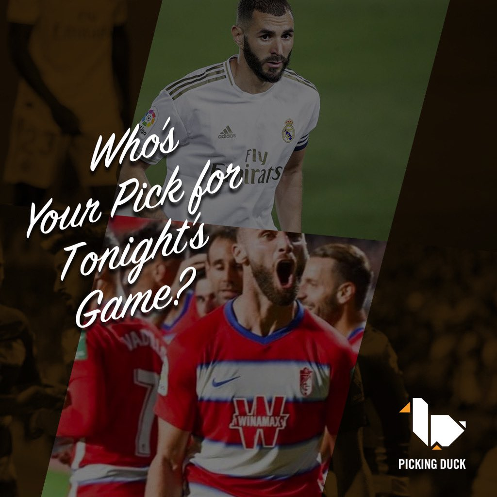 @realmadrid -1.25 (-102) vs @granadacf +1.25 (-106). Grenada is pushing for the final Europa League spot, but they gone average at best since starting back up. Who do you like here? #soccerbetting #laliga #sportsbook https://t.co/X0jMWBi9sB