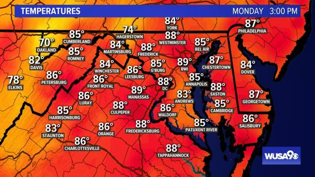 Hey DC! mid afternoon temps...get the forecast here: https://t.co/NiNkVhZR7b #WUSA9Weather #WEATHER #DCWX #MDWX #VAWX https://t.co/GUBO3jGosC