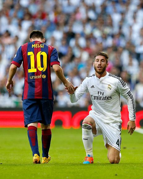 Ramos: I dont understands why people want Messi to go & prove himself in another league.
