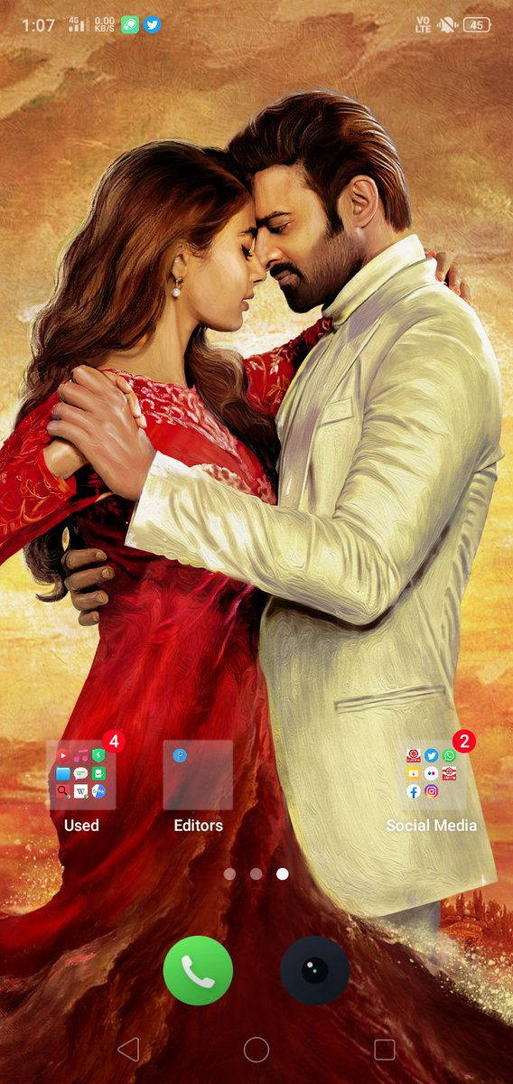 Home Screen and Lock Screen WallPapers 😍❤️ ✊🙏 #Prabhas #RadheShyam #PawanKalyan #JanaSenaParty   Interested One Reply Or Quote Yours With Tag 👇 #AdvanceHBDPawanKalyan @PawanKalyan @Bhaagi_ https://t.co/xg61oOE8ve