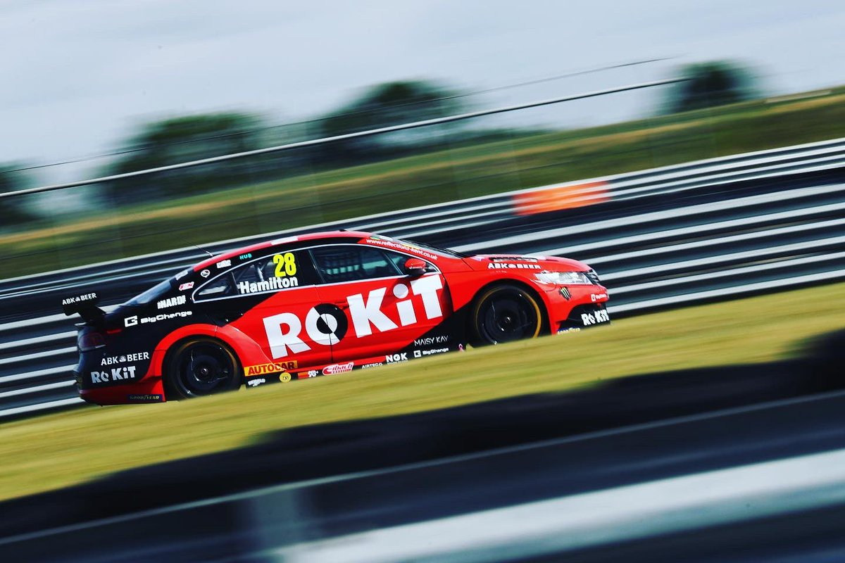 Great to see Nic back in the seat at the Goodyear Tyre Test last week  Bring on Donington Park!   #BTCC https://t.co/woFEroGouS