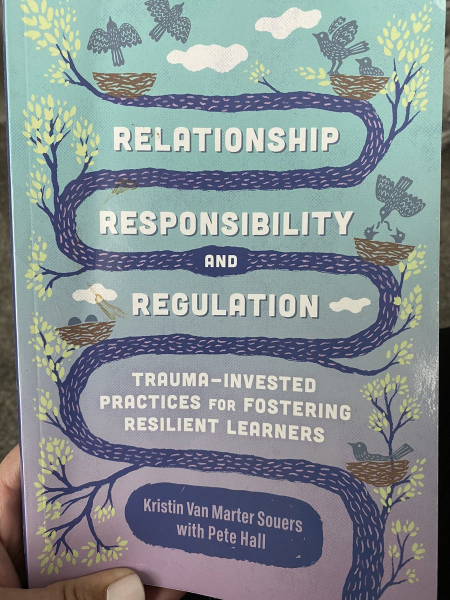 """Great resource with many practical strategies for the classroom. Loved chapter two """"Systems of Meaning."""" How are own systems of meaning affect us and others especially when we are unregulated. @EHEWarriors #ssdpride #warriorsconnect #schoolcounseling pic.twitter.com/jwDWZSZSzA"""